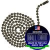 #6 Ball Chains Pre-Cut Three Foot Length Medieval Brass