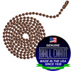 #6 Ball Chains Pre-Cut Three Foot Length Mystic Red