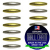 3.2mm x 4.8mm Elliptical Bars - Nickel Plated Brass, Yellow Brass, or Gilding Metal