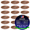 3.2mm x 4.8mm Elliptical Bars Spiral - Copper