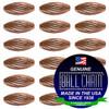 3.2mm x 4.8mm Elliptical Bars Spiral - Copper