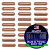 4.8mm x 28.6mm Plain Bars - Copper
