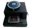 Dog Tag Embossing Machine. Hand Embosser used to create dog tags one by one.