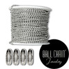 2.1 mm Sterling Silver Ball Chain Spool