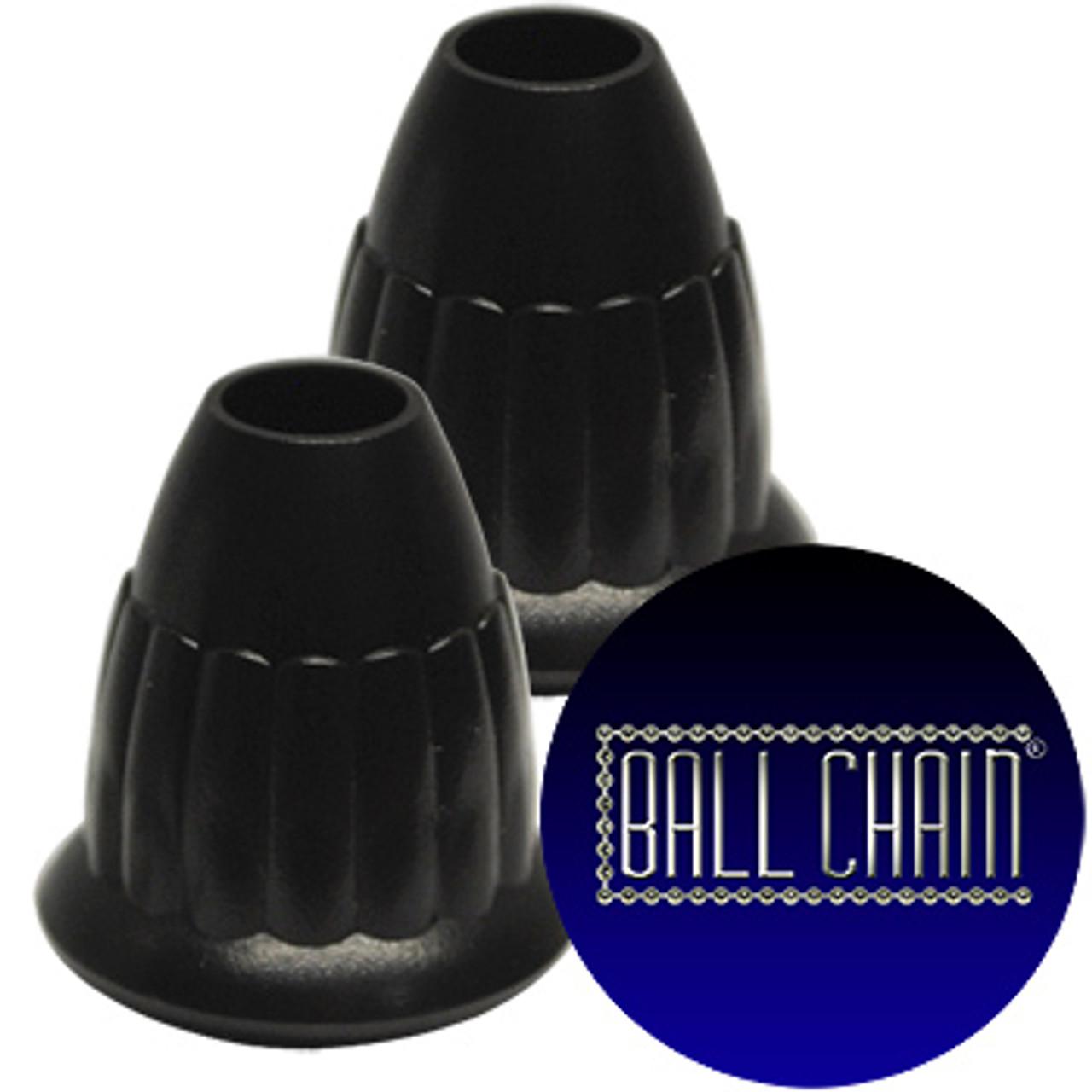 13-P Black Plastic Pendants