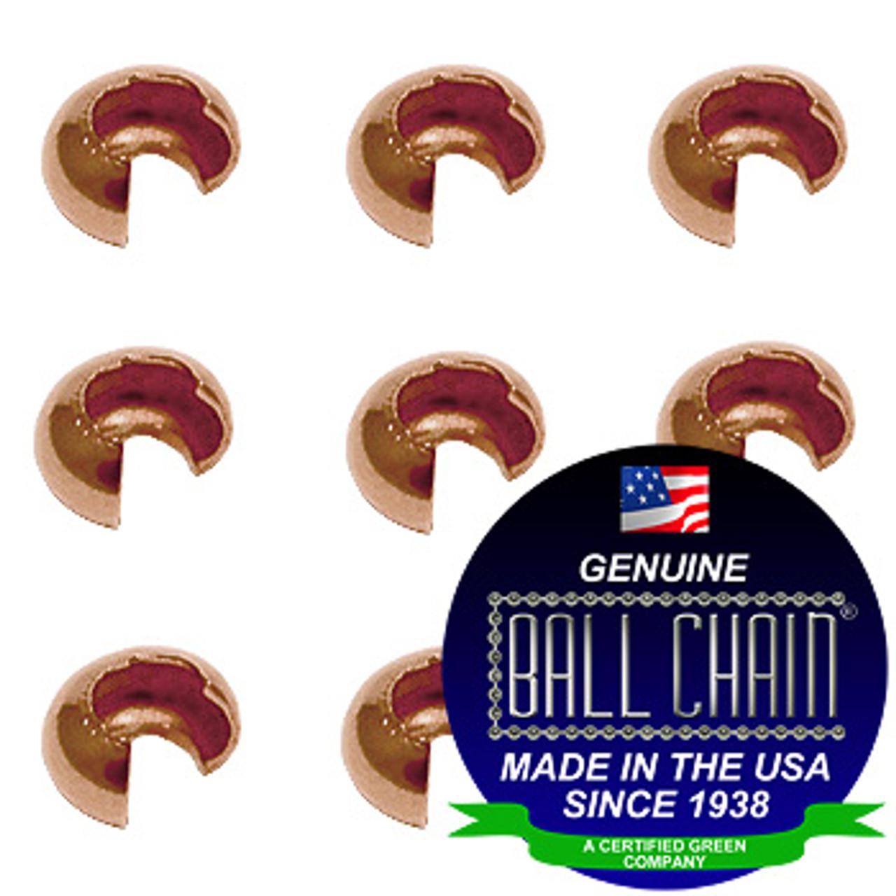 4.0mm Crimp Covers - Copper