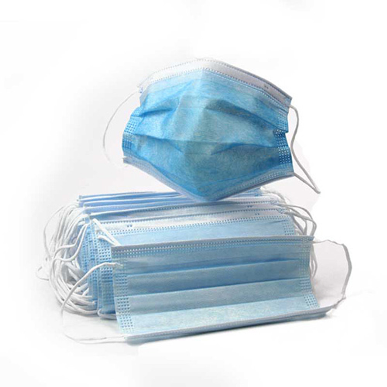 3-Ply Disposable Face Mask 50 ct/box