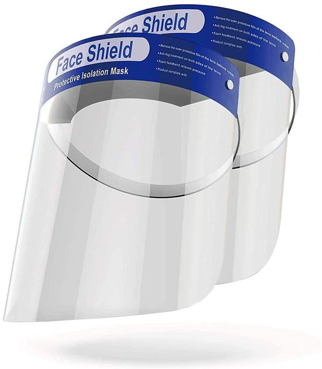 Face Shields - 12 ct