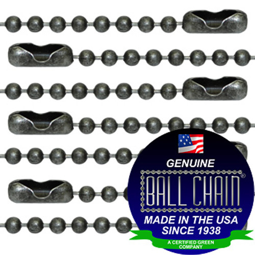#3 Dungeon Finish Ball Chains with Connector - 27 Inch Length