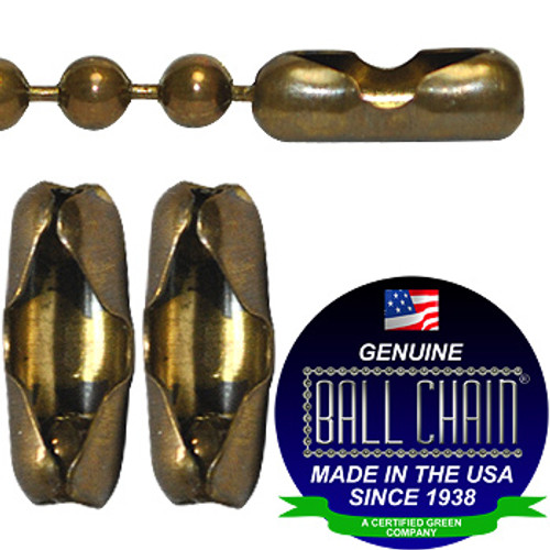 #6 Antique Brown Connectors