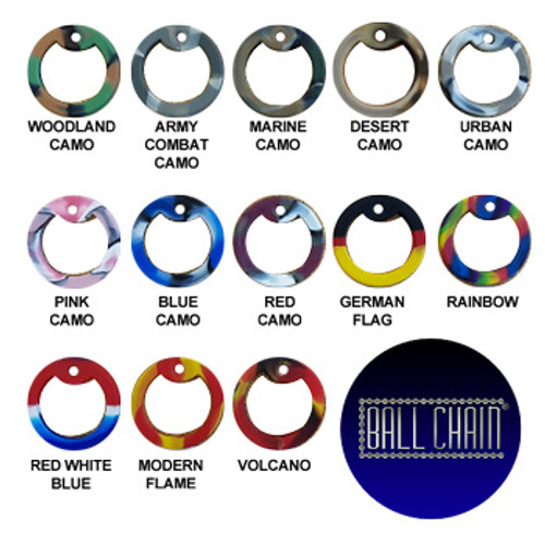 Dog Tag Silencers - Silicone Multicolors