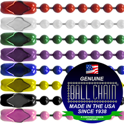 #3 Color Key Chains - 6 Inch Length
