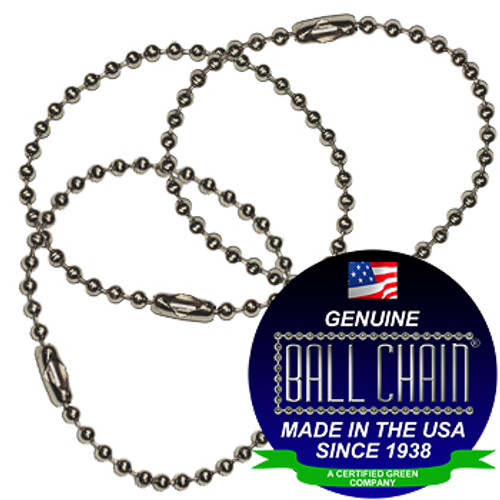 #3 Stainless Steel Key Chains - 6 Inch Length