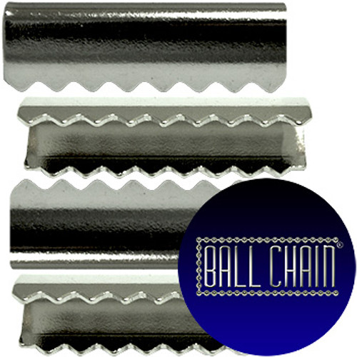 Nickel Plated Metal Clamps - 13 mm Length (BCM35)