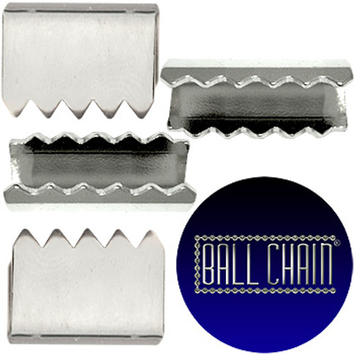 Nickel Plated Metal Clamps - 13 mm Length