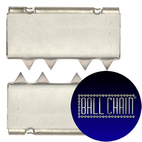 Nickel Plated Metal Clamps - 16 mm Length (BCM41)