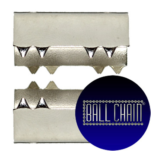 Nickel Plated Metal Clamps - 20 mm Length (BCM34)