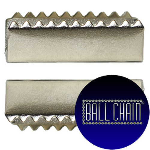 Nickel Plated Metal Clamps - 23 mm Length (BCM25)