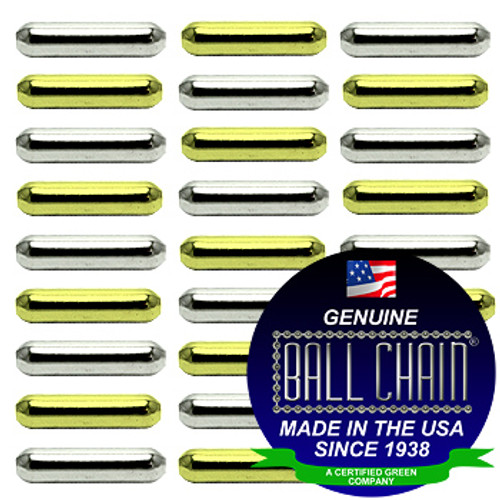 3.2mm x 12.7mm Plain Bars - Nickel Plated Brass, Yellow Brass, or Gilding Metal