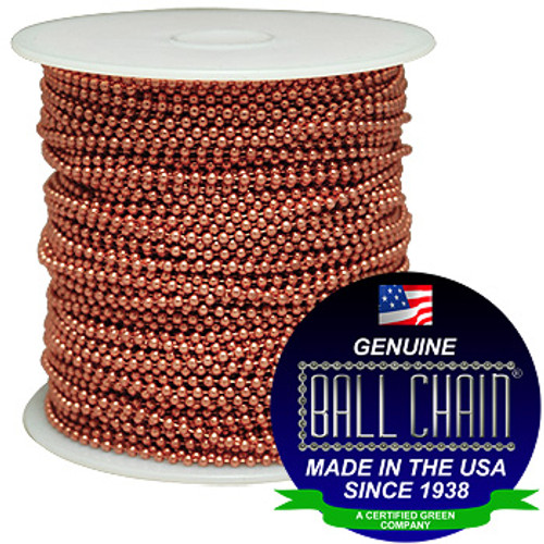#13 Copper Ball Chain Spool