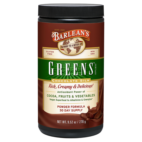 Barlean's Chocolate Silk Greens
