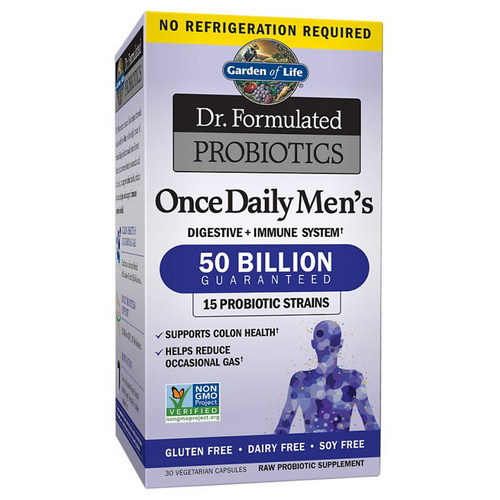 Garden of Life Men's Once Daily 50 Billion