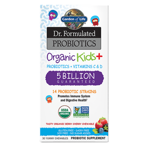 Garden of Life Dr. Formulated Probiotics Organic Kids+ 5 Billion