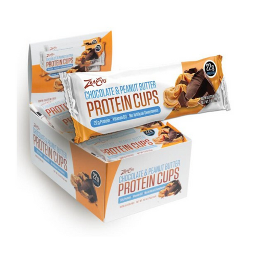 ZenEvo Chocolate & Peanut Butter Protein Cups