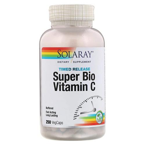 Timed Release Super Bio Vitamin C 250 cap