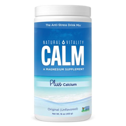 Natural Calm Plus Calcium 16 oz