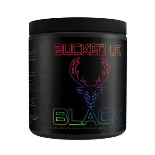 Bucked Up Black Rainbow Rush