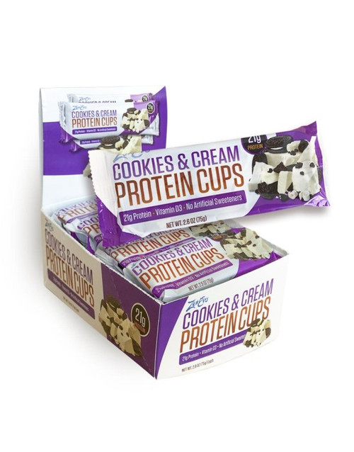 ZenEvo Protein Cookies and Cream Cups