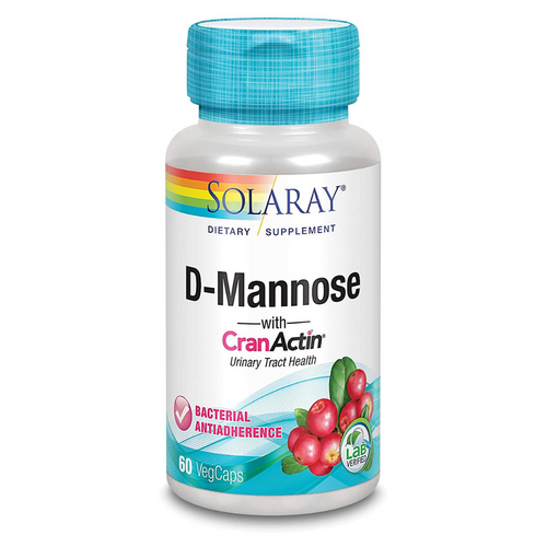 Solaray D Mannose Cranactin 60