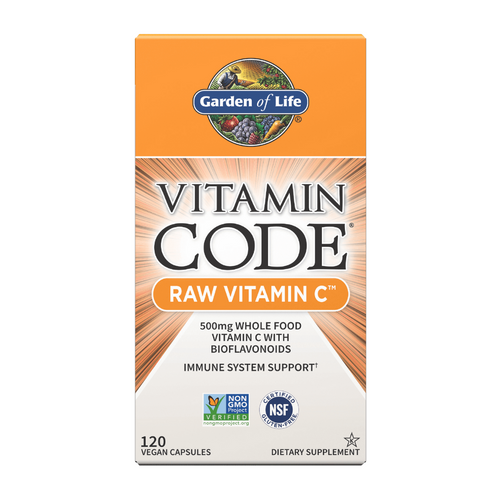 Garden of Life Vitamin Code Raw C 120