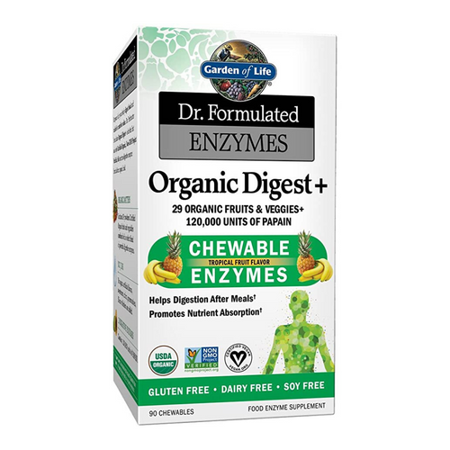 Garden of Life Enzymes Organic Digest+