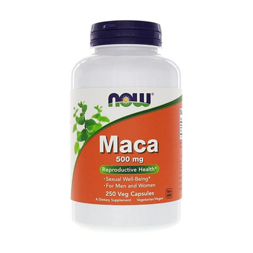 Now Maca 500 mg 250 cap