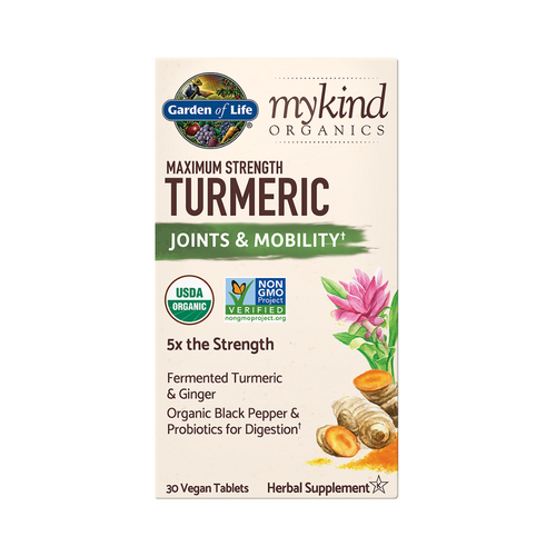 Garden of Life Maximum Strength Turmeric 30
