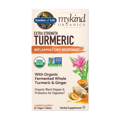 Garden of Life Extra Strength Turmeric 120