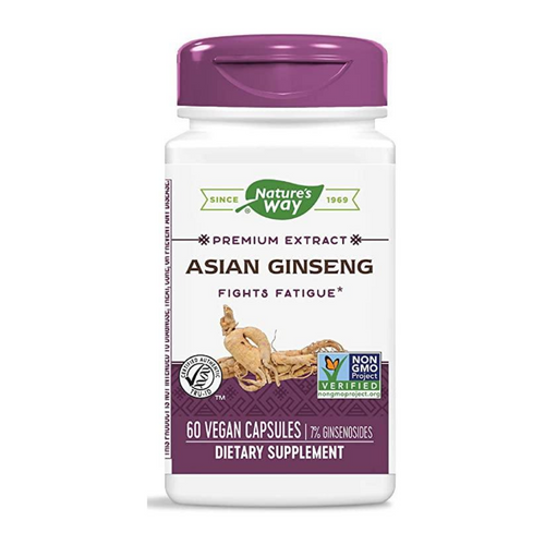 Nature's Way Asian Ginseng 60