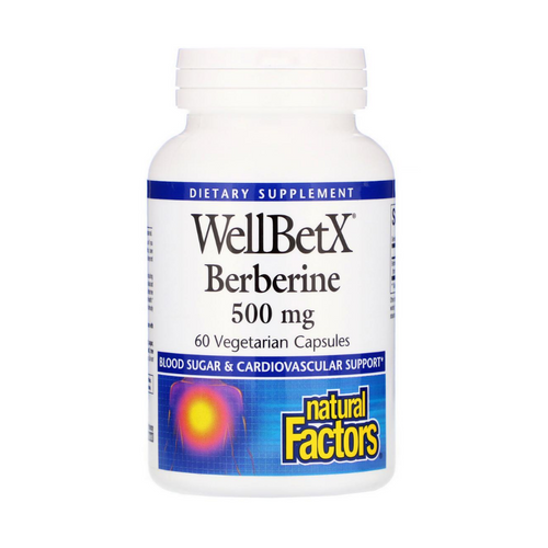 Natural Factors WellBetX Berberine 500 mg