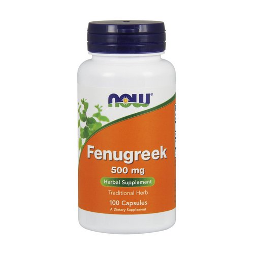 Now Fenugreek 500 mg 100