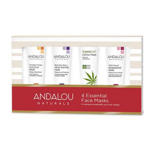Andalou Naturals 4 Essential Face Masks