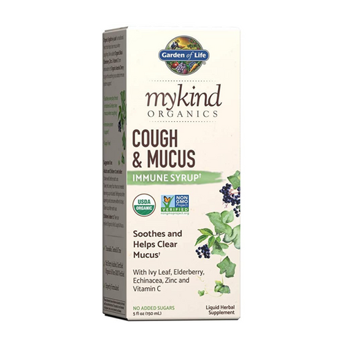 Garden of Life Cough & Mucus Immune Syrup