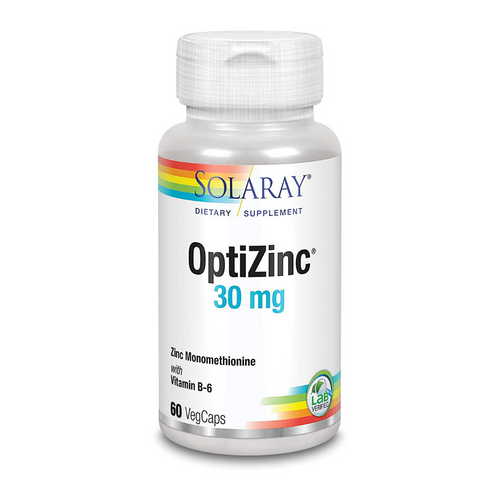 Solaray OptiZinc 30 mg 60 caps