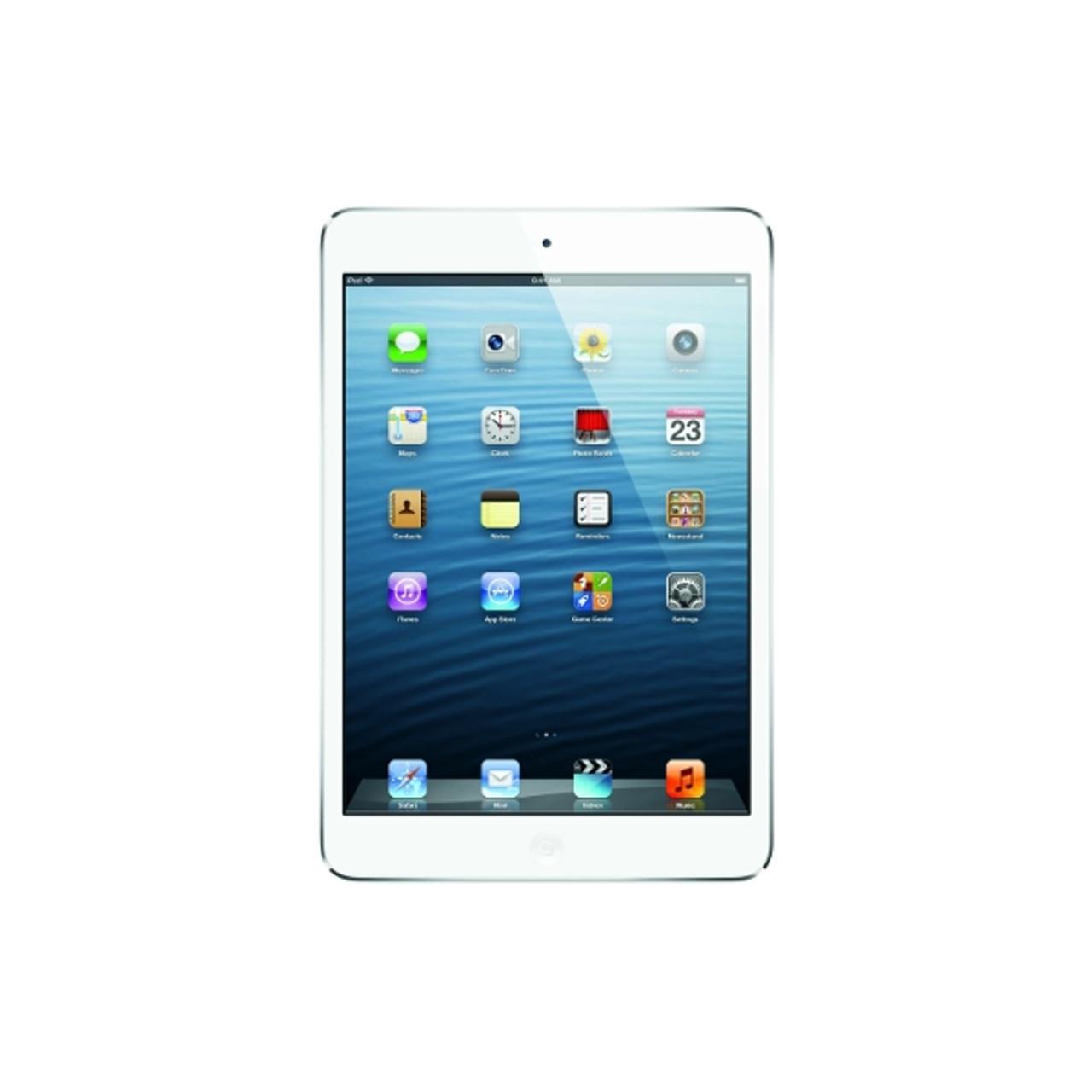 Apple iPad mini 64GB - White & Silver MD533LL/A - Good Condition
