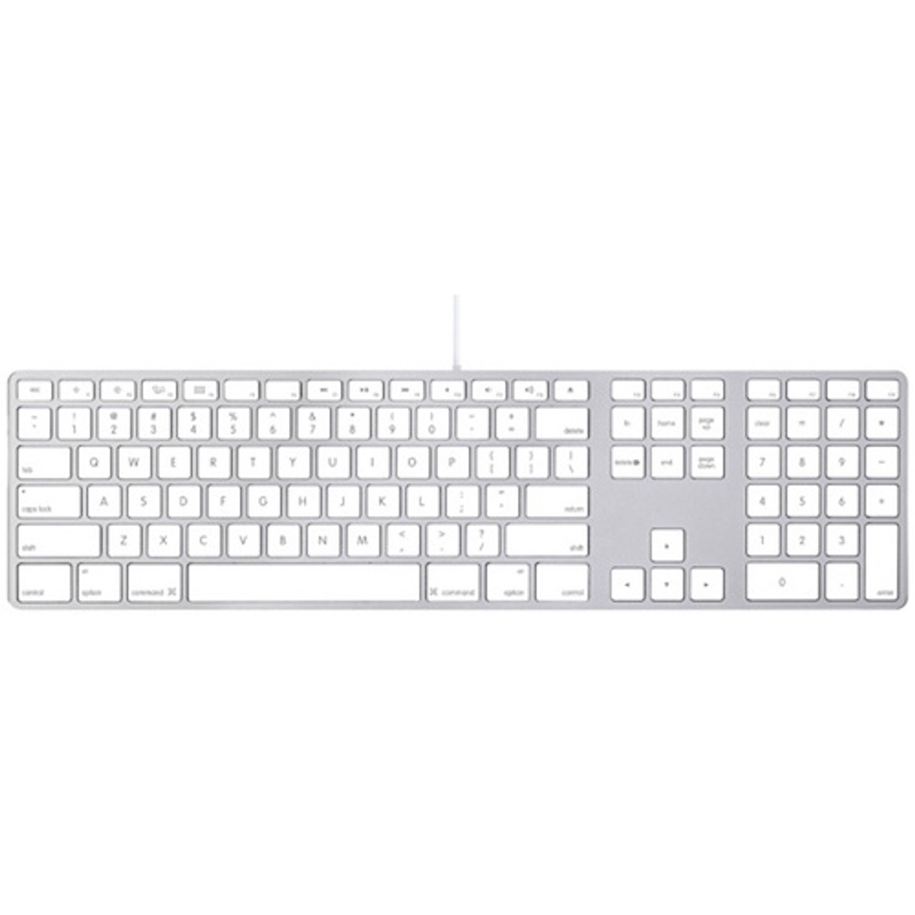 b8d86847c79 Apple Aluminum Keyboard with Numeric Keypad MB110LL/B - Good