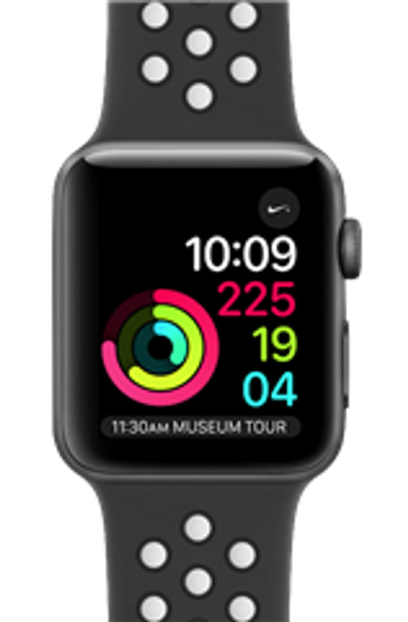 Despertar Descodificar Beneficiario  Used Apple Watch Nike+ - 42mm Space Gray Aluminum Case with  Anthracite/Black Nike Sport Band | mac of all trades