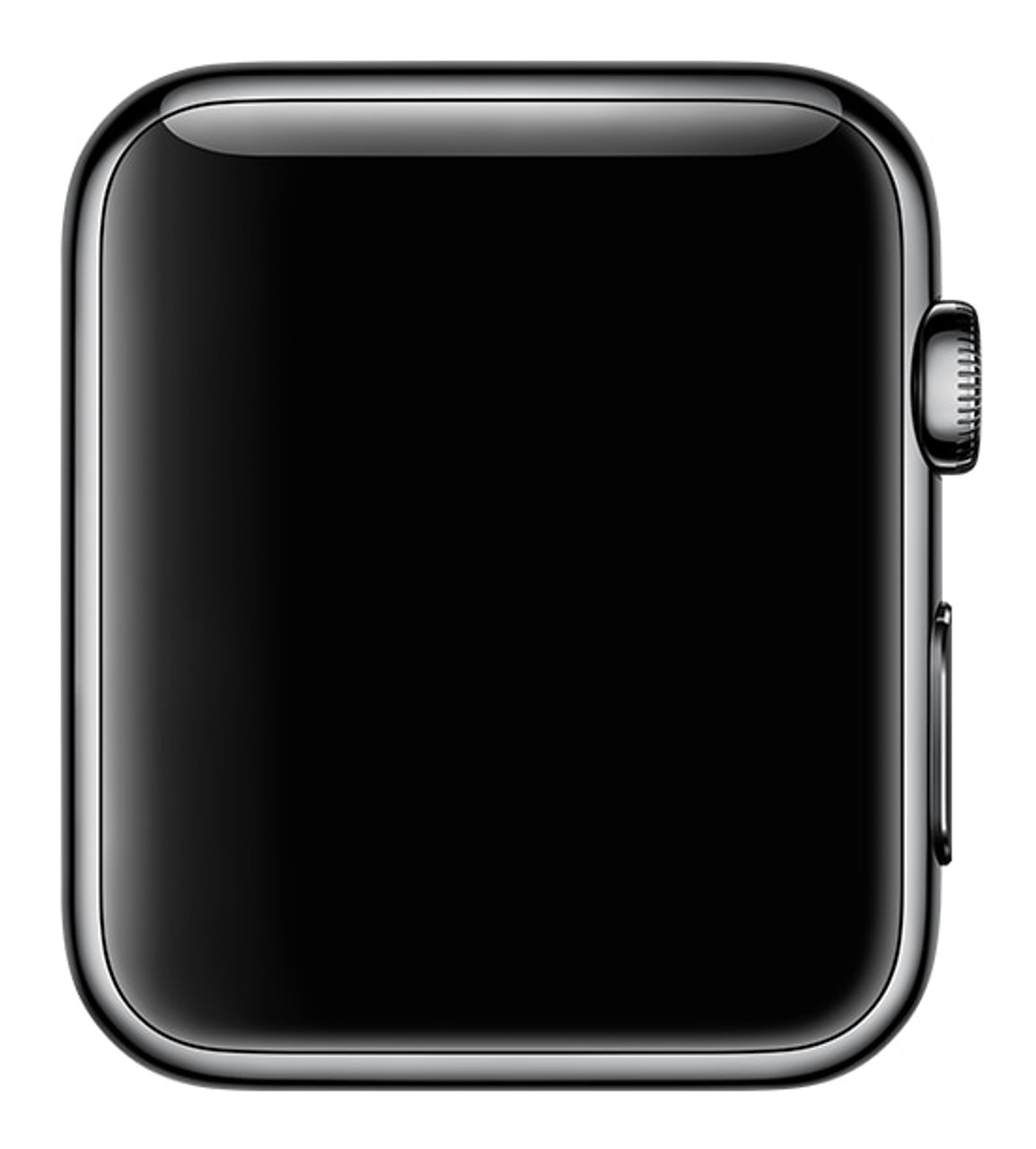 newest 9f4d6 11e05 Apple Watch (Series 3) GPS + Cellular - 42mm Space Black Stainless Steel -  Excellent