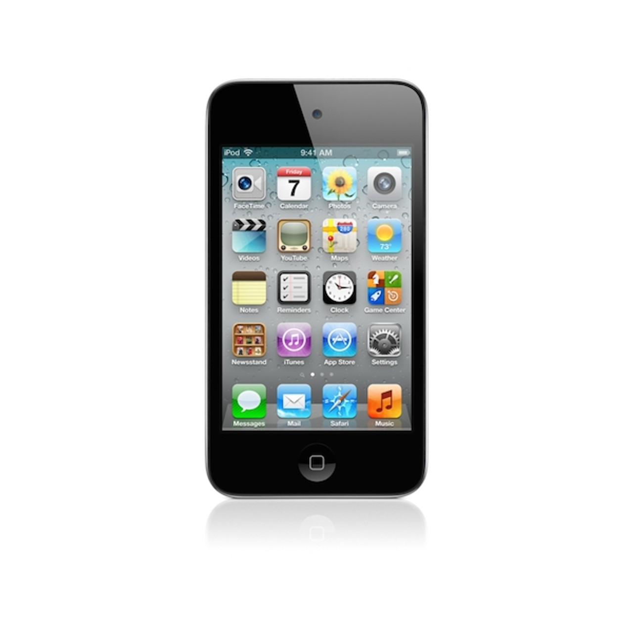Sreen in Grade A Condition Apple iPod touch 2nd Generation Black 8GB