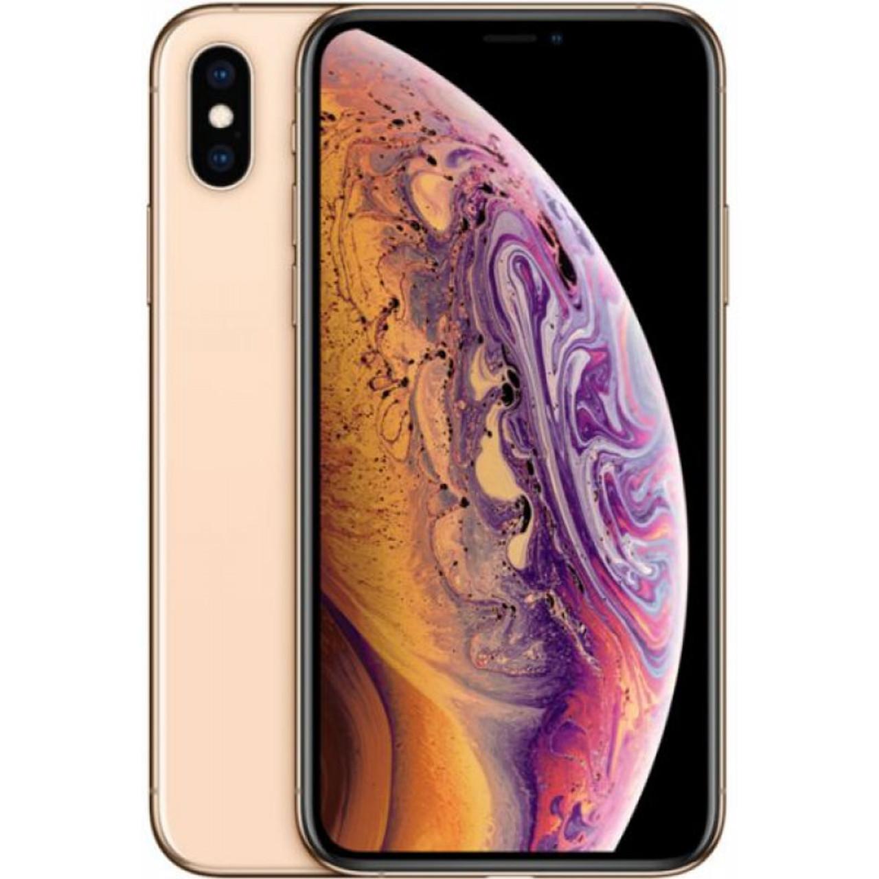 Apple Iphone Xs Max Att 256gb Gold Mt612lla Excellent Condition